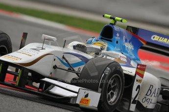 © Octane Photographic Ltd. GP2 Autumn Test – Circuit de Catalunya – Barcelona. Tuesday 30th October 2012 Afternoon session - Barwa Addax Team - Adrian Quaife-Hobbs. Digital Ref : 0552lw7d1272