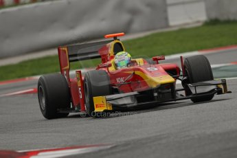 © Octane Photographic Ltd. GP2 Autumn Test – Circuit de Catalunya – Barcelona. Tuesday 30th October 2012 Afternoon session - Racing Engineering - Andre Negrao. Digital Ref : 0552lw7d1357