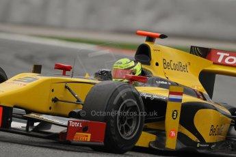 © Octane Photographic Ltd. GP2 Autumn Test – Circuit de Catalunya – Barcelona. Tuesday 30th October 2012 Afternoon session - Dams - Nigel Melker. Digital Ref : 0552lw7d1471