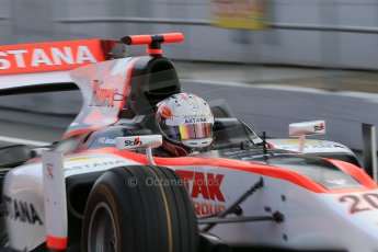 © Octane Photographic Ltd. GP2 Autumn Test – Circuit de Catalunya. Tuesday 30th October 2012 Morning session – Barcelona - Rapax - Daniel Juncadella. Digital Ref : 0551cb1d5676