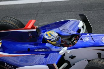© Octane Photographic Ltd. GP2 Autumn Test – Circuit de Catalunya – Barcelona. Tuesday 30th October 2012 Morning session - Trident Racing - Marcus Ericsson. Digital Ref : 0551cb1d5705