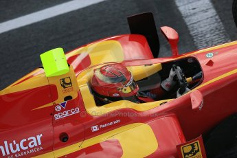 © Octane Photographic Ltd. GP2 Autumn Test – Circuit de Catalunya – Barcelona. Tuesday 30th October 2012 Morning session - Racing Engineering - Gianmarco Raimondo. Digital Ref :  0551cb1d5738