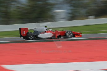 © Octane Photographic Ltd. GP2 Autumn Test – Circuit de Catalunya – Barcelona. Tuesday 30th October 2012 Morning session - Scuderia Coloni - Luca Filippi. Digital Ref : 0551cb1d5855