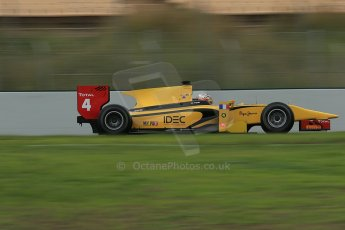 © Octane Photographic Ltd. GP2 Autumn Test – Circuit de Catalunya – Barcelona. Tuesday 30th October 2012 Morning session - Dams - Arthur Pic. Digital Ref : 0551cb1d6084
