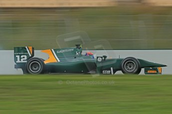 © Octane Photographic Ltd. GP2 Autumn Test – Circuit de Catalunya – Barcelona. Tuesday 30th October 2012 Morning session - Caterham Racing - Alexander Rossi. Digital Ref : 0551cb1d6263