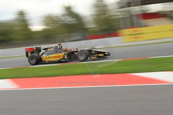 © Octane Photographic Ltd. GP2 Autumn Test – Circuit de Catalunya – Barcelona. Tuesday 30th October 2012 Morning session - Lotus GP - Daniel Abt. Digital Ref : 0551cb7d2100