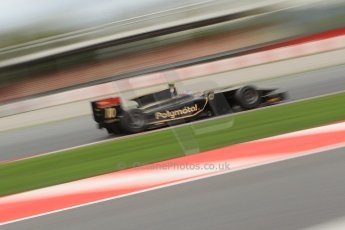 © Octane Photographic Ltd. GP2 Autumn Test – Circuit de Catalunya – Barcelona. Tuesday 30th October 2012 Morning session - Lotus GP - Stéphane Richelmi. Digital Ref : 0551cb7d2127