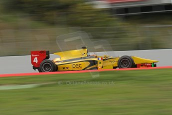 © Octane Photographic Ltd. GP2 Autumn Test – Circuit de Catalunya – Barcelona. Tuesday 30th October 2012 Morning session - Dams - Arthur Pic. Digital Ref : 0551lw7d0386