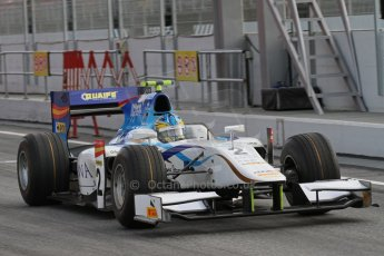 © Octane Photographic Ltd. GP2 Autumn Test – Circuit de Catalunya – Barcelona. Tuesday 30th October 2012 Morning session. Digital Ref : 0551lw7d9856