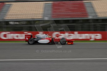 © Octane Photographic Ltd. GP2 Autumn Test – Circuit de Catalunya – Barcelona. Tuesday 30th October 2012 Morning session - Scuderia Coloni - Daniel De Jong. Digital Ref : 0551lw7d9995