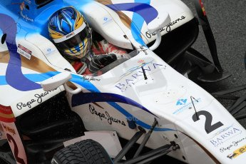 © Octane Photographic Ltd. GP2 Autumn Test – Circuit de Catalunya – Barcelona. Wednesday 31st October 2012 Morning session - Barwa Addax team - Adrian Quaife-Hobbs. Digital Ref :