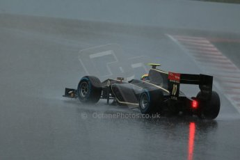 © Octane Photographic Ltd. GP2 Autumn Test – Circuit de Catalunya – Barcelona. Wednesday 31st October 2012 Morning session. Digital Ref :