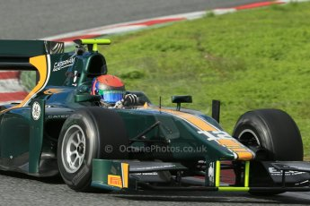 © Octane Photographic Ltd. GP2 Autumn Test – Circuit de Catalunya – Barcelona. Wednesday 31st October 2012 Afternoon session - Caterham Racing - Alexander Rossi. Digital Ref :