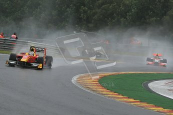 © 2012 Octane Photographic Ltd. Belgian GP Spa - Friday 31st August 2012 - GP2 Practice - Racing Engineering - Nathanael Berthon and Rapax - Daniel de Jong. Digital Ref :