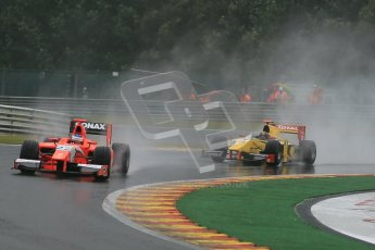 © 2012 Octane Photographic Ltd. Belgian GP Spa - Friday 31st August 2012 - GP2 Practice - Arden International - Simon Trummer and Dams - Davide Valsecchi. Digital Ref :