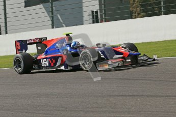 World © Octanephotos.co.uk All rights reserved. Joylon Palmer takes on Spa-Francorchamps during GP2 Feature Race 2 2012