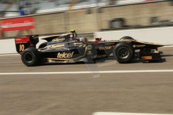 © 2012 Octane Photographic Ltd. Italian GP Monza - Friday 7th September 2012 - GP2 Practice - Lotus GP - Esteban Gutierrez. Digital Ref : 0506cb7d2189