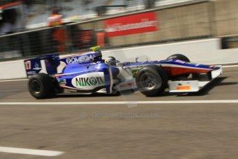 © 2012 Octane Photographic Ltd. Italian GP Monza - Friday 7th September 2012 - GP2 Practice - Trident Racing - Julian Leal. Digital Ref : 0506cb7d2209