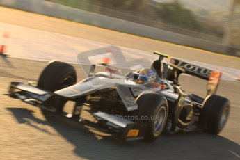 © Octane Photographic Ltd. GP2 Winter testing Jerez Day 1, Tuesday 28th February 2012. Lotus GP, Esteban Gutierrez. Digital Ref :