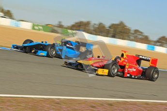 © Octane Photographic Ltd. GP2 Winter testing Jerez Day 1, Tuesday 28th February 2012. Ocean Racing Technology, Nigel Melker. Digital Ref :