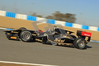 © Octane Photographic Ltd. GP2 Winter testing Jerez Day 1, Tuesday 28th February 2012. Lotus GP, Esteban Gutierrez. Digital Ref :