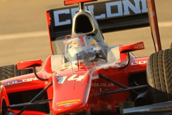 © Octane Photographic Ltd. GP2 Winter testing Jerez Day 1, Tuesday 28th February 2012. Scuderia Coloni, Stefano Coletti. Digital Ref :