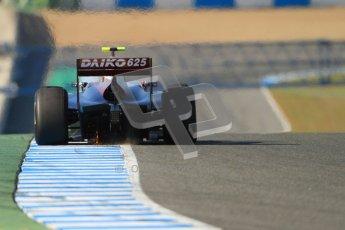 © Octane Photographic Ltd. GP2 Winter testing Jerez Day 1, Tuesday 28th February 2012. Venezuela GP Lazarus, Vittorio Ghirelli. Digital Ref :