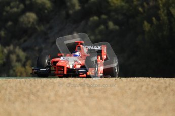 © Octane Photographic Ltd. GP2 Winter testing Jerez Day 1, Tuesday 28th February 2012. Arden International, Simon Trummer. Digital Ref :