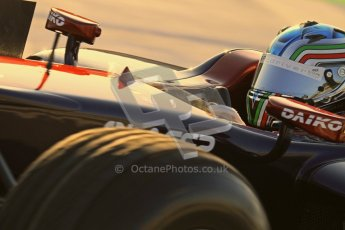 © Octane Photographic Ltd. GP2 Winter testing Jerez Day 1, Tuesday 28th February 2012. Venezuela GP Lazarus, Vittorio Ghirelli. Digital Ref :