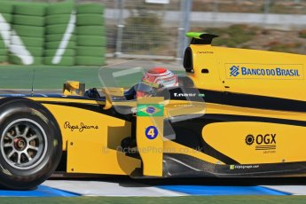 © Octane Photographic Ltd. GP2 Winter testing Jerez Day 1, Tuesday 28th February 2012. DAMS, Feipe Nasr. Digital Ref :