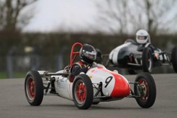 © Octane Photographic Ltd. HSCC Donington Park 17th March 2012. 500cc F3. Martin Gartside - Cooper Mk8. Digital ref : 0245cb7d5237