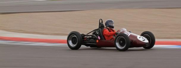© Octane Photographic Ltd. HSCC Donington Park 17th March 2012. 500cc F3. Kerry Horan - Trenberth Vincent. Digital ref : 0245lw7d8152