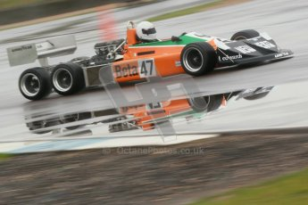 © Octane Photographic Ltd. HSCC Donington Park 18th May 2012. Classic Formula 3 Championship including Tony Brise Derek Bell Trophies Race. Jeremy Smith - F1 March 2-4-0. Digital ref : 0248cb1d8479
