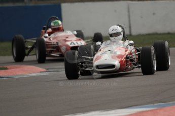 © Octane Photographic Ltd. HSCC Donington Park 17th March 2012. Classic Racing Cars. Steve Seaman - Brabham BT21. Digital ref : 0244cb7d4858