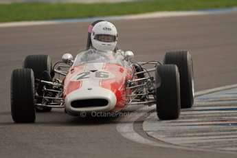 © Octane Photographic Ltd. HSCC Donington Park 17th March 2012. Classic Racing Cars. Steve Seaman - Brabham BT21. Digital ref : 0244cb7d4860