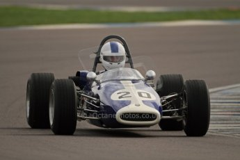 © Octane Photographic Ltd. HSCC Donington Park 17th March 2012. Classic Racing Cars. Mike Freeman - Brabham BT14. Digital ref : 0244cb7d4880