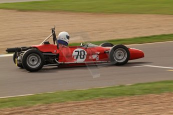 © Octane Photographic Ltd. HSCC Donington Park 17th March 2012. Classic Racing Cars. Jonathan Baines - Merlyn Mk20. Digital ref : 0244lw7d7620