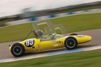 © Octane Photographic Ltd. HSCC Donington Park 17th March 2012. Historic Formula Junior Championship (Rear engine).. Rudolf Ernst - Lotus 22. Digital ref : 0243cb1d7421