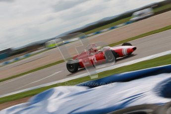 © Octane Photographic Ltd. HSCC Donington Park 17th March 2012. Historic Formula Junior Championship (Rear engine).. Crispian Besley - Cooper T56. Digital ref : 0243cb1d7465