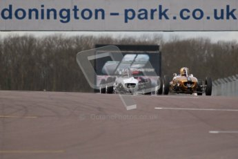 © Octane Photographic Ltd. HSCC Donington Park 17th March 2012. Historic Formula Junior Championship (Rear engine).. Digital ref : 0243cb1d7634
