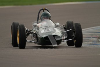 © Octane Photographic Ltd. HSCC Donington Park 17th March 2012. Historic Formula Junior Championship (Rear engine).. Michael Hibberd - Lotus 22. Digital ref : 0243cb7d4524