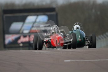 © Octane Photographic Ltd. HSCC Donington Park 17th March 2012. Historic Formula Junior Championship (Rear engine).. Digital ref : 0243cb7d4732