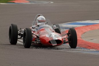 © Octane Photographic Ltd. HSCC Donington Park 17th March 2012. Historic Formula Junior Championship (Rear engine).. Steve Smith - Cooper T59. Digital ref : 0243lw7d6622