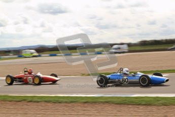 © Octane Photographic Ltd. HSCC Donington Park 17th March 2012. Historic Formula Junior Championship (Rear engine).. Nicholas Fennell - Lotus 27. Digital ref : 0243lw7d6866