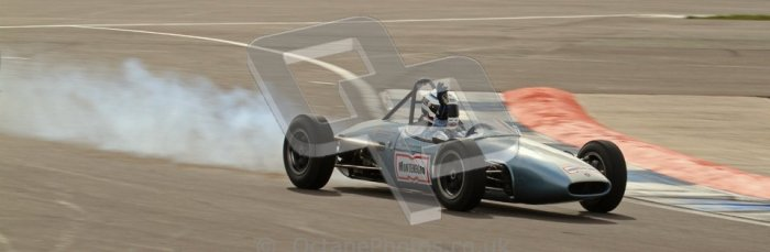 © Octane Photographic Ltd. HSCC Donington Park 17th March 2012. Historic Formula Junior Championship (Rear engine).. Jonathon Hughes - Brabham BT6. Digital ref : 0243lw7d7087