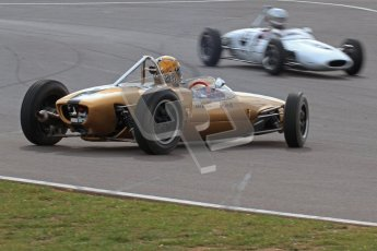 © Octane Photographic Ltd. HSCC Donington Park 17th March 2012. Historic Formula Junior Championship (Rear engine).. Simon Diffey - Lotus 20. Digital ref : 0243lw7d7179