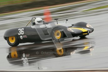 © Octane Photographic Ltd. HSCC Donington Park 18th May 2012. Guards Trophy for Sport Racing Cars. Andrew Garside - Lotus 23B. Digital ref : 0247cb1d8341