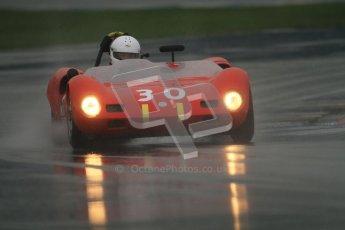 © Octane Photographic Ltd. HSCC Donington Park 18th May 2012. Guards Trophy for Sport Racing Cars. John Bussey - Elva Mk7. Digital ref : 0247cb7d5711