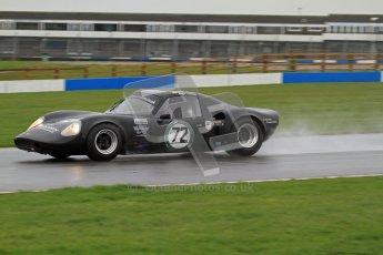 © Octane Photographic Ltd. HSCC Donington Park 18th May 2012. Guards Trophy for Sport Racing Cars. Hugh Colman & Mark Colman - Chevron B8. Digital ref : 0247lw7d9440