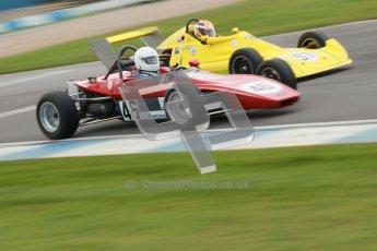 © Octane Photographic Ltd. HSCC Donington Park 17th March 2012. Historic Formula Ford 2000 Championship. John Bowles - Royale RP9. Digital ref : 0251cb1d8737
